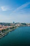 Η άποψη της πόλης του Πόρτο τη θερινή ημέρα Στοκ φωτογραφία με δικαίωμα ελεύθερης χρήσης