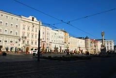 Η άποψη του ιστορικού κέντρου του Λιντς στοκ φωτογραφία με δικαίωμα ελεύθερης χρήσης