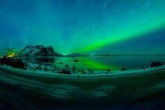 Η άποψη των νησιών Lofoten κατά τη διάρκεια του χειμώνα είναι ένα όνειρο για όλους τους φωτογράφους τοπίων Αυτή τη στιγμή του έτο Στοκ φωτογραφία με δικαίωμα ελεύθερης χρήσης