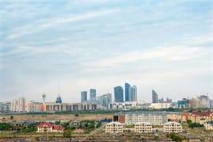 Η άποψη Astana Στοκ Εικόνα