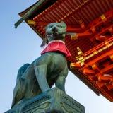 Η λάρνακα Ιαπωνία Inari Taisha Fushimi στοκ φωτογραφία με δικαίωμα ελεύθερης χρήσης