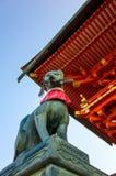 Η λάρνακα Ιαπωνία Inari Taisha Fushimi στοκ φωτογραφίες