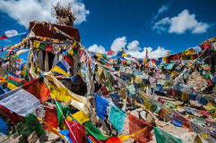 Η λάρνακα περασμάτων Khardungla Στοκ Εικόνες