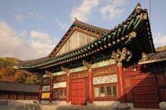 Η λάρνακα στο ναό Gakwonsa Στοκ Εικόνες