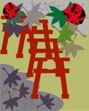 Η λάρνακα της Ιαπωνίας Στοκ εικόνα με δικαίωμα ελεύθερης χρήσης