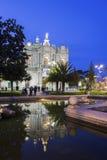 Η λάρνακα της Virgin Rosary της Πομπηίας Στοκ Φωτογραφίες