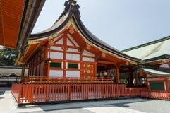 Η λάρνακα Inari Fushimi Στοκ Εικόνα