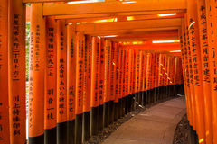 Η λάρνακα Inari Taisha Fushimi Στοκ Εικόνες