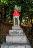 Η λάρνακα Inari Taisha Fushimi Στοκ φωτογραφία με δικαίωμα ελεύθερης χρήσης