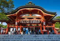 Η λάρνακα Inari Taisha Fushimi Στοκ Φωτογραφία