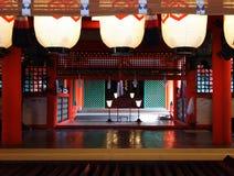 Η λάρνακα Itsukushima Στοκ φωτογραφίες με δικαίωμα ελεύθερης χρήσης
