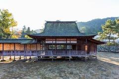 Η λάρνακα Itsukushima Στοκ Εικόνα