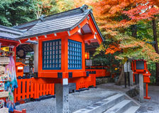 Η λάρνακα nonomiya-Jinja σε Arashiyama στο Κιότο Στοκ Εικόνες