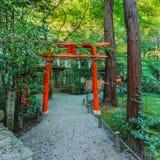 Η λάρνακα nonomiya-Jinja σε Arashiyama στο Κιότο Στοκ φωτογραφίες με δικαίωμα ελεύθερης χρήσης