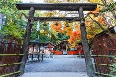 Η λάρνακα nonomiya-Jinja σε Arashiyama στο Κιότο Στοκ Φωτογραφίες