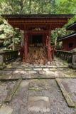 Η λάρνακα Shinto με τις ξύλινες πινακίδες Στοκ εικόνα με δικαίωμα ελεύθερης χρήσης