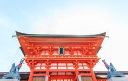 Η λάρνακα taisha Inari Fushimi Inari, Fushimi Ku στο Κιότο Στοκ φωτογραφία με δικαίωμα ελεύθερης χρήσης