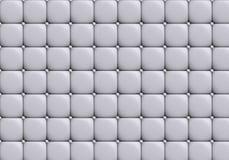 Η άσπρη σύσταση δέρματος του δέρματος που γεμίζεται Στοκ εικόνα με δικαίωμα ελεύθερης χρήσης