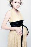 Η έγκυος γυναίκα. Στοκ εικόνα με δικαίωμα ελεύθερης χρήσης
