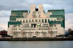 Η έδρα της βρετανικής μυστικής υπηρεσίας πληροφοριών Mi6 Στοκ Εικόνες