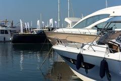 Η 57η έκδοση της Γένοβας της διεθνούς βάρκας παρουσιάζει Στοκ φωτογραφία με δικαίωμα ελεύθερης χρήσης