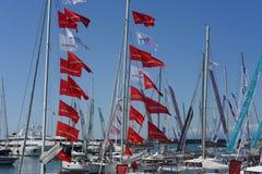 Η 57η έκδοση της Γένοβας της διεθνούς βάρκας παρουσιάζει Στοκ εικόνα με δικαίωμα ελεύθερης χρήσης