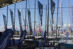 Η 57η έκδοση της Γένοβας της διεθνούς βάρκας παρουσιάζει Στοκ εικόνες με δικαίωμα ελεύθερης χρήσης
