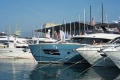 Η 57η έκδοση της Γένοβας της διεθνούς βάρκας παρουσιάζει Στοκ Φωτογραφίες
