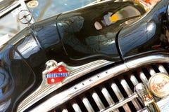 Η έκθεση αυτοκινήτων στο κλασικό αυτοκίνητο του Βουκουρεστι'ου εμφανίζει Στοκ εικόνα με δικαίωμα ελεύθερης χρήσης
