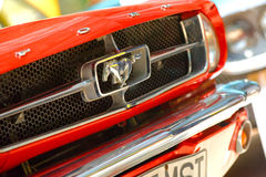Η έκθεση αυτοκινήτων στο κλασικό αυτοκίνητο του Βουκουρεστι'ου εμφανίζει Στοκ Εικόνες