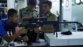 15η έκθεση 2016 της Ασίας αμυντικών υπηρεσιών Στοκ φωτογραφία με δικαίωμα ελεύθερης χρήσης