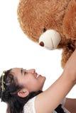 Η έκπληξη γενεθλίων teddy αντέχει στοκ φωτογραφίες