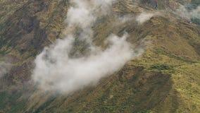 Η έκταση και τα σύννεφα απόθεμα βίντεο