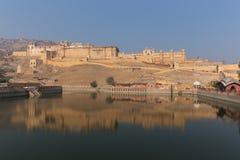 Ηλέκτρινο οχυρό στην κατάσταση του Rajasthan της Ινδίας Στοκ φωτογραφίες με δικαίωμα ελεύθερης χρήσης