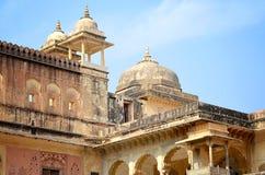 Ηλέκτρινο οχυρό, Jaipur, Ινδία Στοκ εικόνα με δικαίωμα ελεύθερης χρήσης