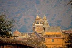 Ηλέκτρινο οχυρό, Jaipur, Ινδία Στοκ Φωτογραφίες