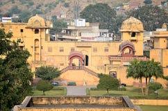 Ηλέκτρινο οχυρό, Jaipur, Ινδία Στοκ Εικόνες