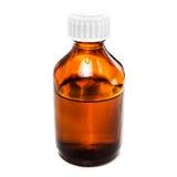 Ηλέκτρινο dropper μπουκάλι με το πετρέλαιο, την ιατρική ή άλλο ευεργετικό liq στοκ εικόνες