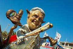 140η έκδοση του καρναβαλιού Viareggio Στοκ φωτογραφίες με δικαίωμα ελεύθερης χρήσης