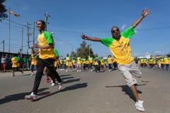 13η έκδοση του μεγάλου αιθιοπικού τρεξίματος Στοκ Φωτογραφίες