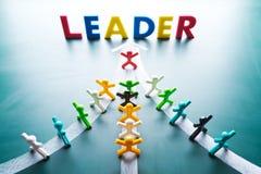 Έννοια ηγεσίας Στοκ Φωτογραφία