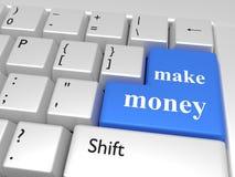 η έννοια κάνει τα χρήματα Στοκ Εικόνα
