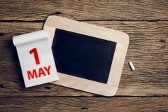 Η έννοια μπορεί ημέρα, την 1η Μαΐου Στοκ Εικόνες