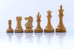 Η έννοια σκακιού σώζει το βασιλιά Στοκ εικόνες με δικαίωμα ελεύθερης χρήσης