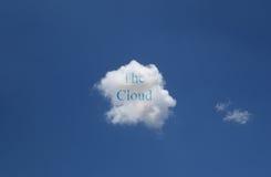 Η έννοια σύννεφων Στοκ εικόνες με δικαίωμα ελεύθερης χρήσης