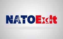 Η έννοια της απόσυρσης της Τουρκίας ` s από το ΝΑΤΟ Πολιτική κρίση της Τουρκίας και του ΝΑΤΟ απεικόνιση αποθεμάτων