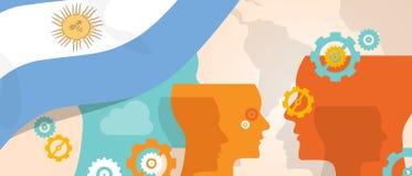 Η έννοια της Αργεντινής της αυξανόμενης καινοτομίας σκέψης συζητά μελλοντική να μαίνει εγκεφάλου χωρών κάτω από τη διαφορετική άπ ελεύθερη απεικόνιση δικαιώματος