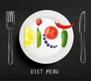 Η έννοια της διατροφής απεικόνιση αποθεμάτων