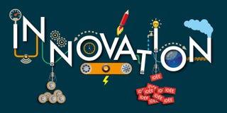 Η έννοια της καινοτομίας και του 'brainstorming' ομάδων για την επιτυχία της επιχείρησης απεικόνιση αποθεμάτων
