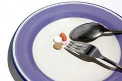 Η έννοια της κατανάλωσης φαρμάκων Στοκ εικόνες με δικαίωμα ελεύθερης χρήσης